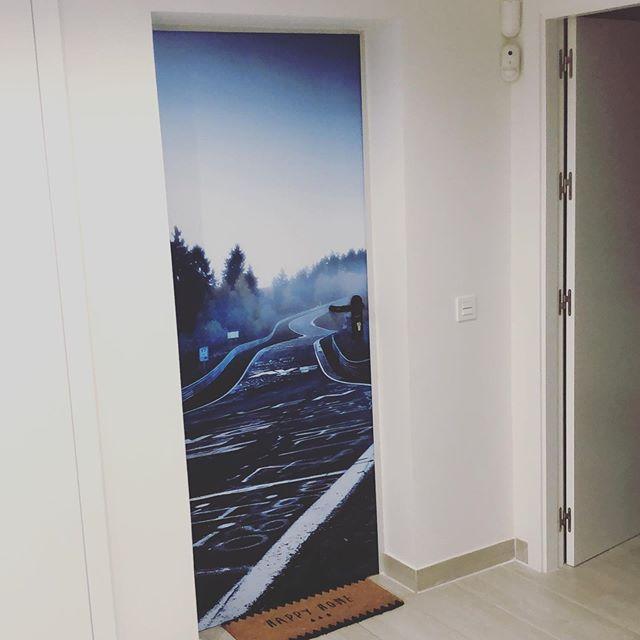 Decoración de interiores y puertas decorativas