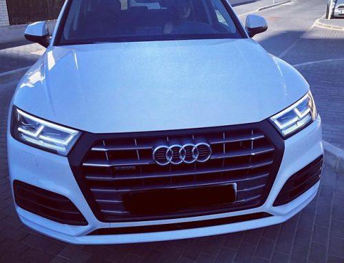 Parrilla en vinilo Carbono de 3M Films para este Audi Q5